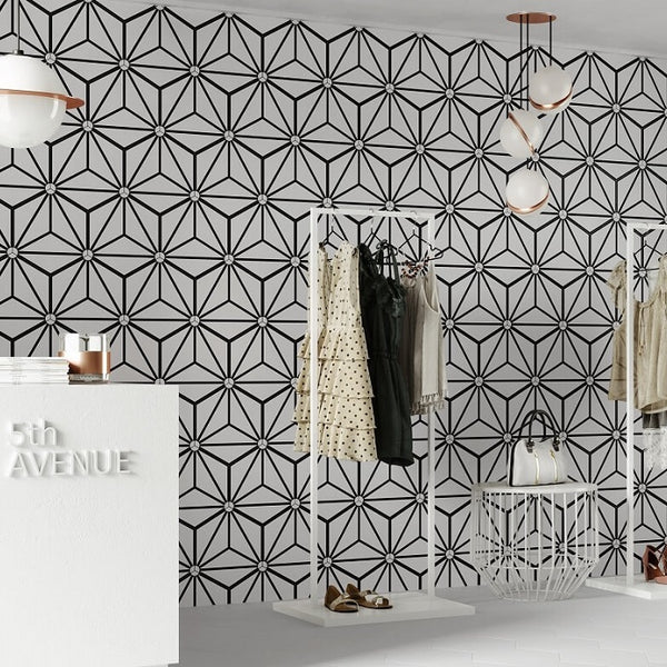 Osaka White Tile in Clothes Showroom