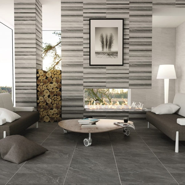 Safari Tile in Modern Living Room