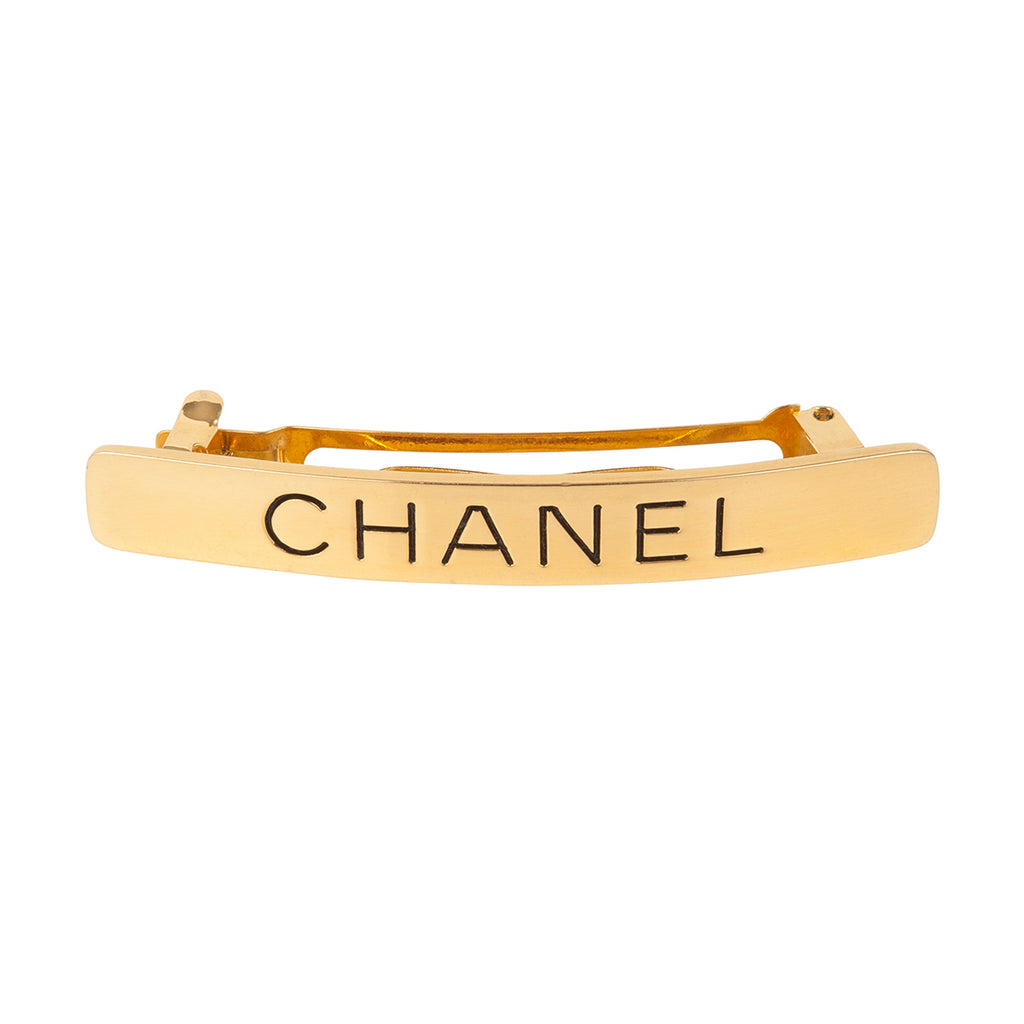 1990s Vintage Chanel Hair Slide