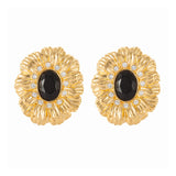 1980s Vintage Kenneth Jay Lane Swarovski Clip-On Earrings