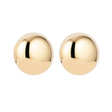 1980s Vintage Givenchy Statement Round Clip-On Earrings