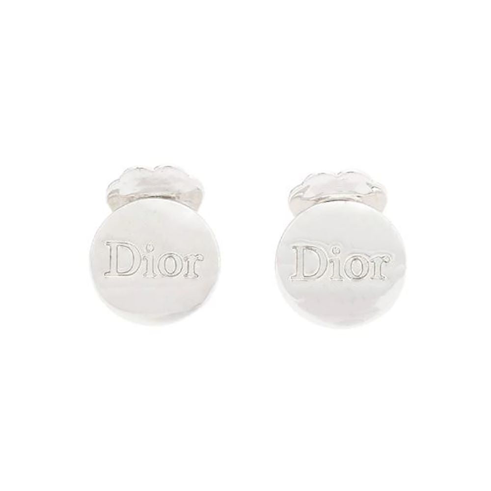 1990s Vintage Christian Dior Delicate Clip-On Earrings