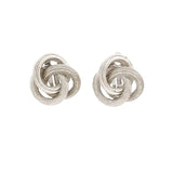 1980s Vintage Celtic Knot Clip-On Earrings