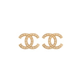 2003 Chanel Mosaic Design Clip-On Earrings