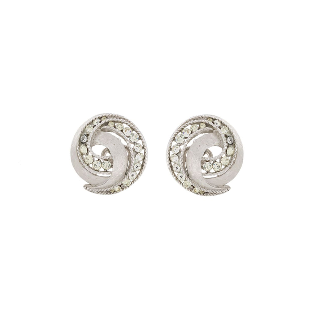 1960s Vintage Trifari Cavalcade Clip-On Earrings