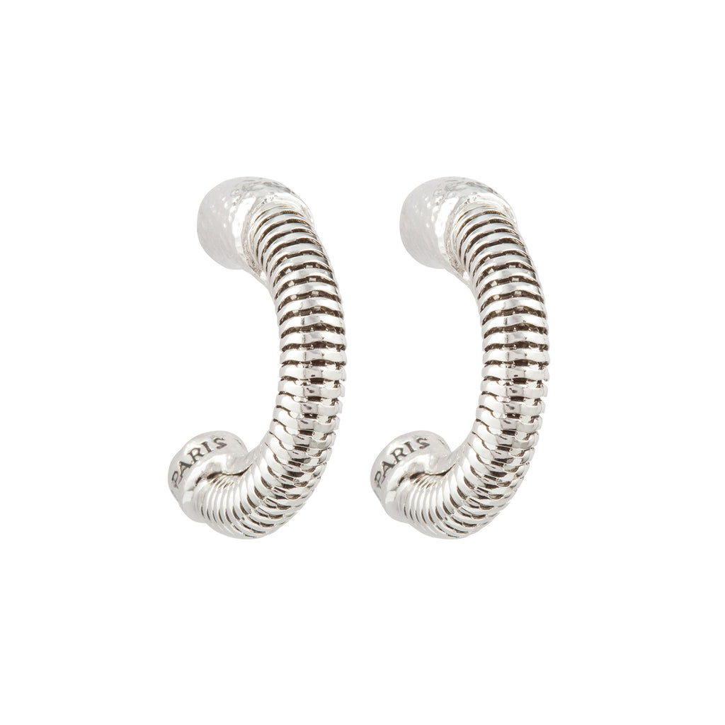 1990s Vintage Nina Ricci Demi Hoop Earrings