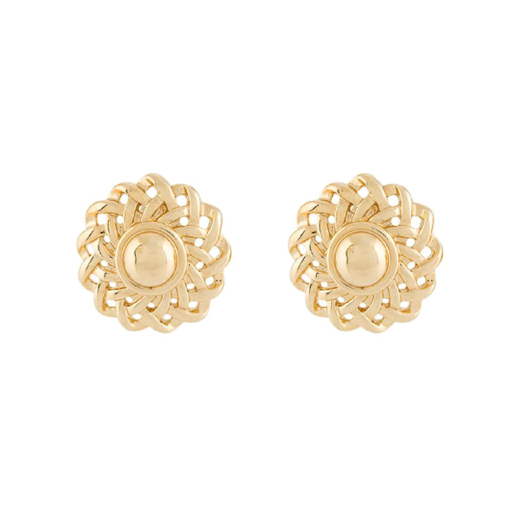 1980s Vintage Givenchy Sculpted Clip-On Earrings