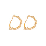 1990s Vintage D'Orlan Knot Clip-On Earrings