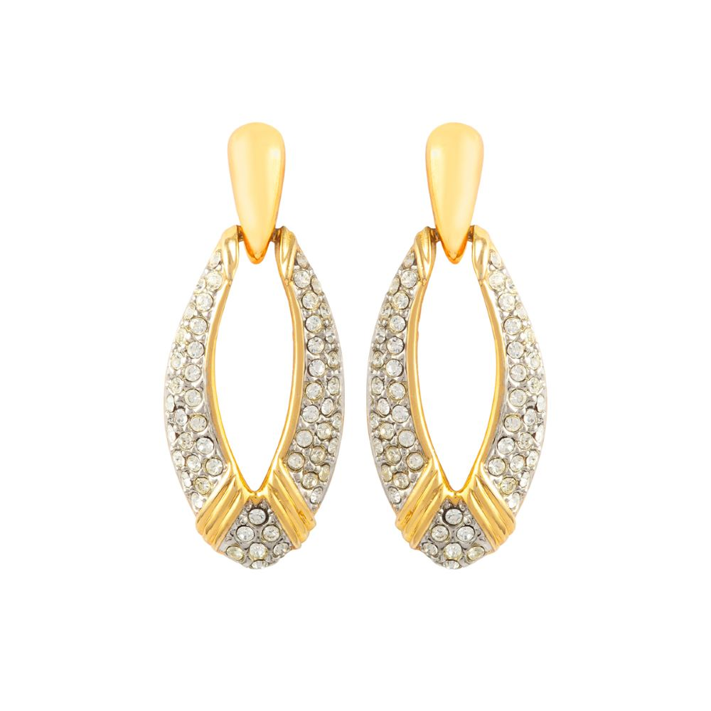 2000 Dramatic Drop Earrings
