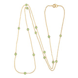 Vintage 18ct Gold Plated Swarovski Crystal Necklace