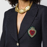 1980s Vintage Monet Statement Collar Necklace