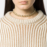 1960s Vintage Trifari Faux Pearl and Leaf Necklace