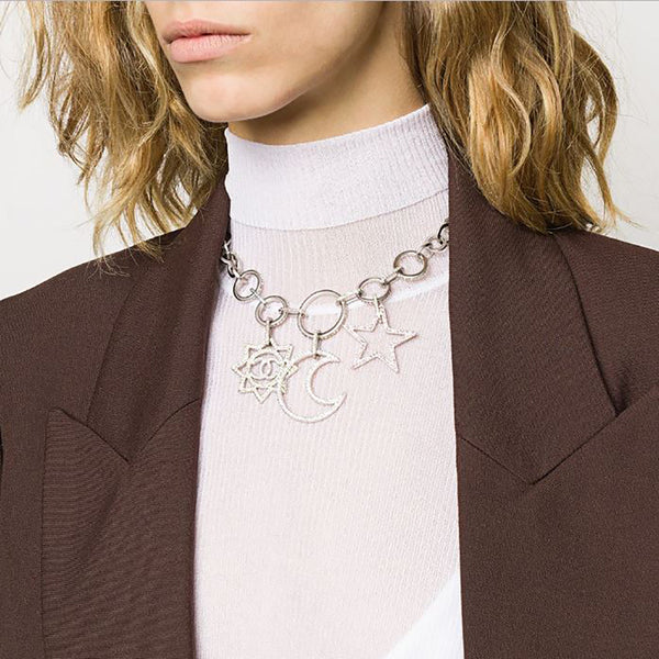 2017 Chanel Charm Necklace