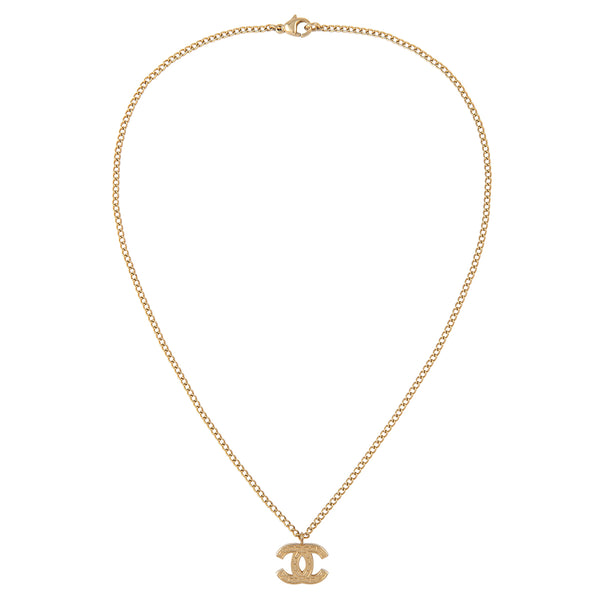 2003 Chanel Tile Pendant Necklace
