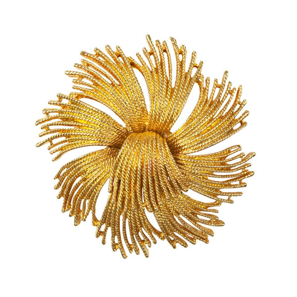 1960s Vintage Monet Starburst Brooch