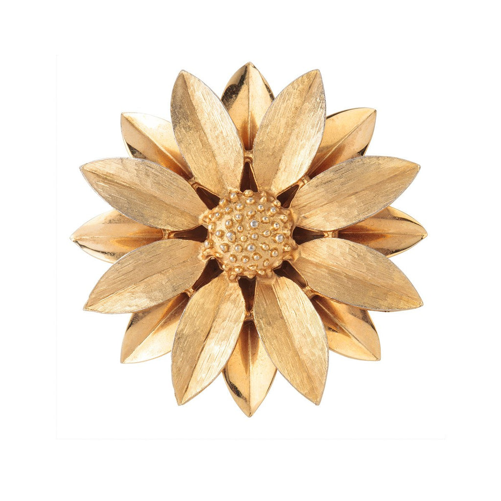 1970s Vintage Sarah Coventry Daisy Brooch