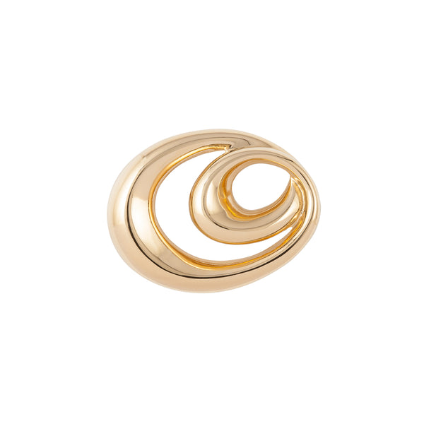 1980s Vintage Givenchy Swirl Brooch