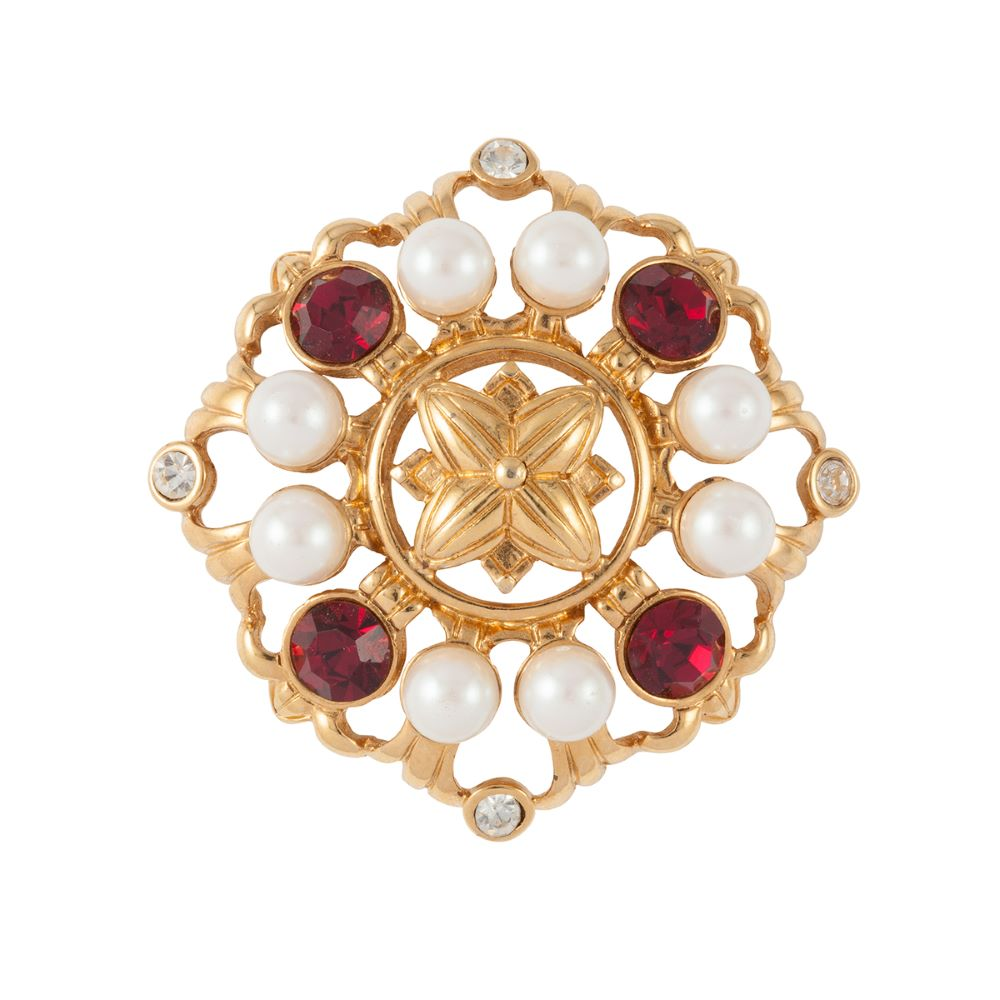 1980s Vintage Monet Regal Brooch