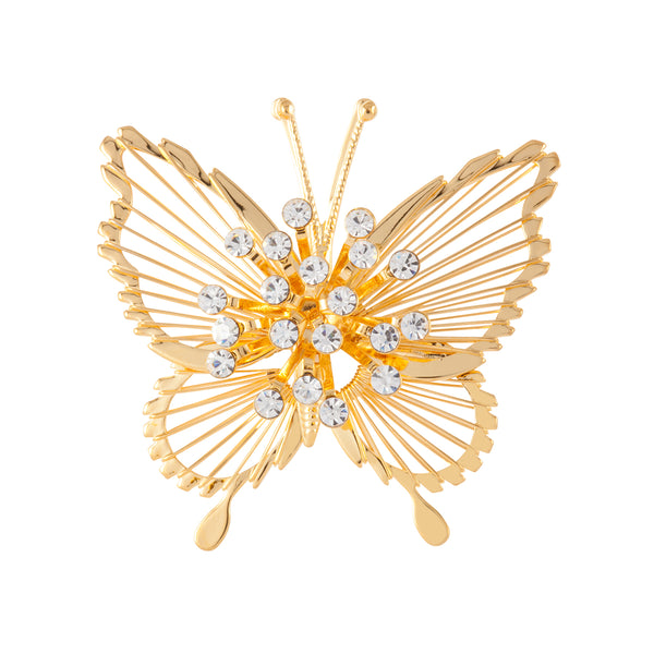 1980s Vintage Monet Butterfly Brooch