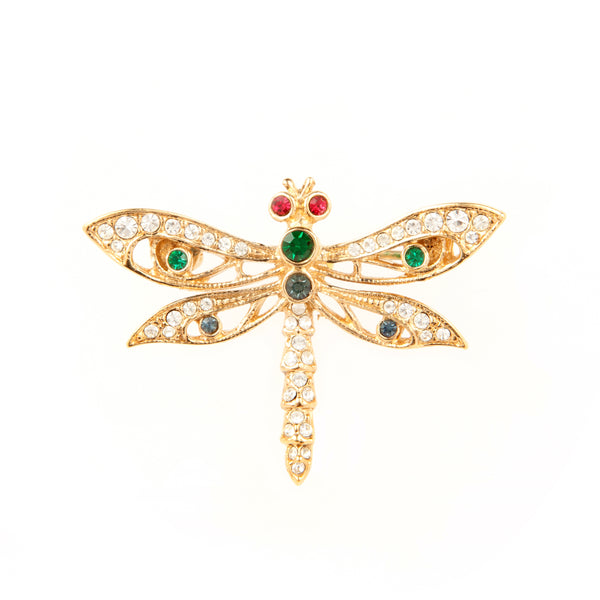 1980s Vintage Attwood & Sawyer Dragonfly Brooch