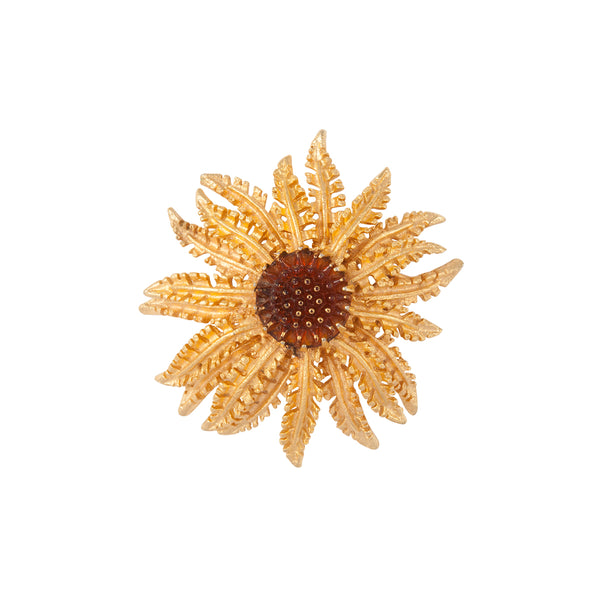 1960s Vintage Sarah Coventry Sunflower Brooch