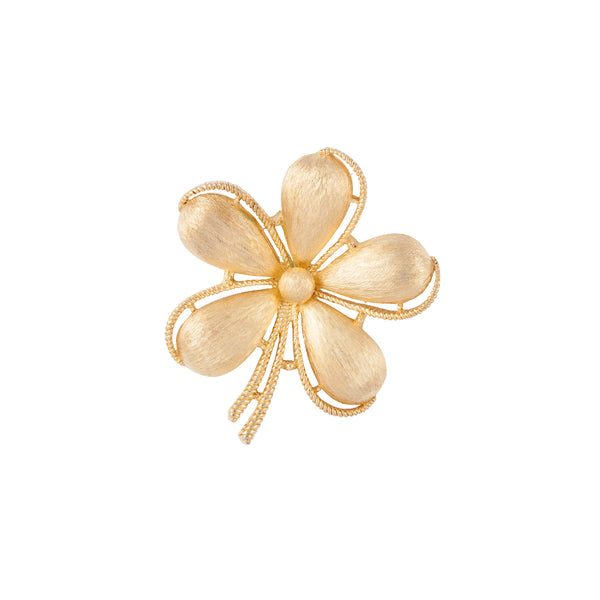 1960s Vintage Trifari Flower Brooch