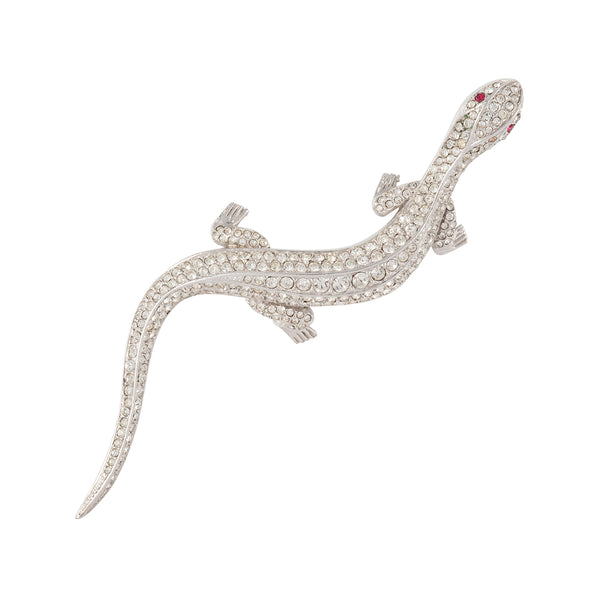 1980s Vintage Attwood & Sawyer Lizard Brooch