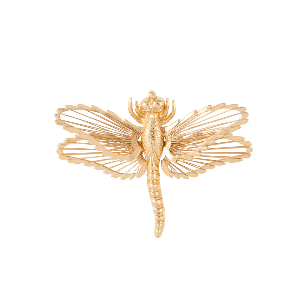 1980s Vintage Monet Dragonfly Brooch