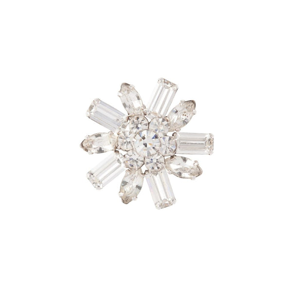 1960s Vintage Flower Brooch