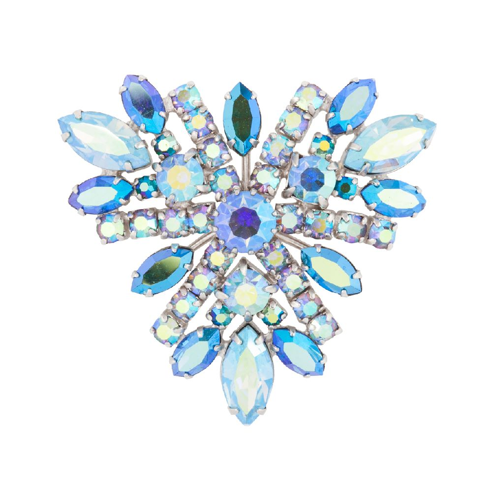 1950s Vintage G. Sherman Jewels Flower Brooch