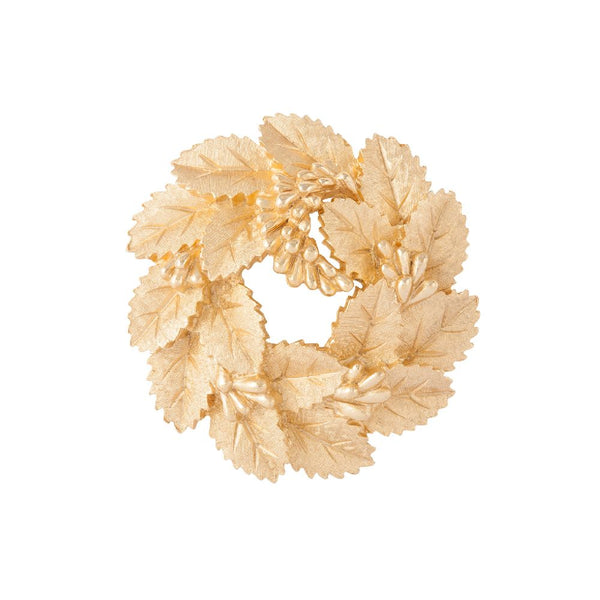 1960s Vintage Trifari Wreath Brooch