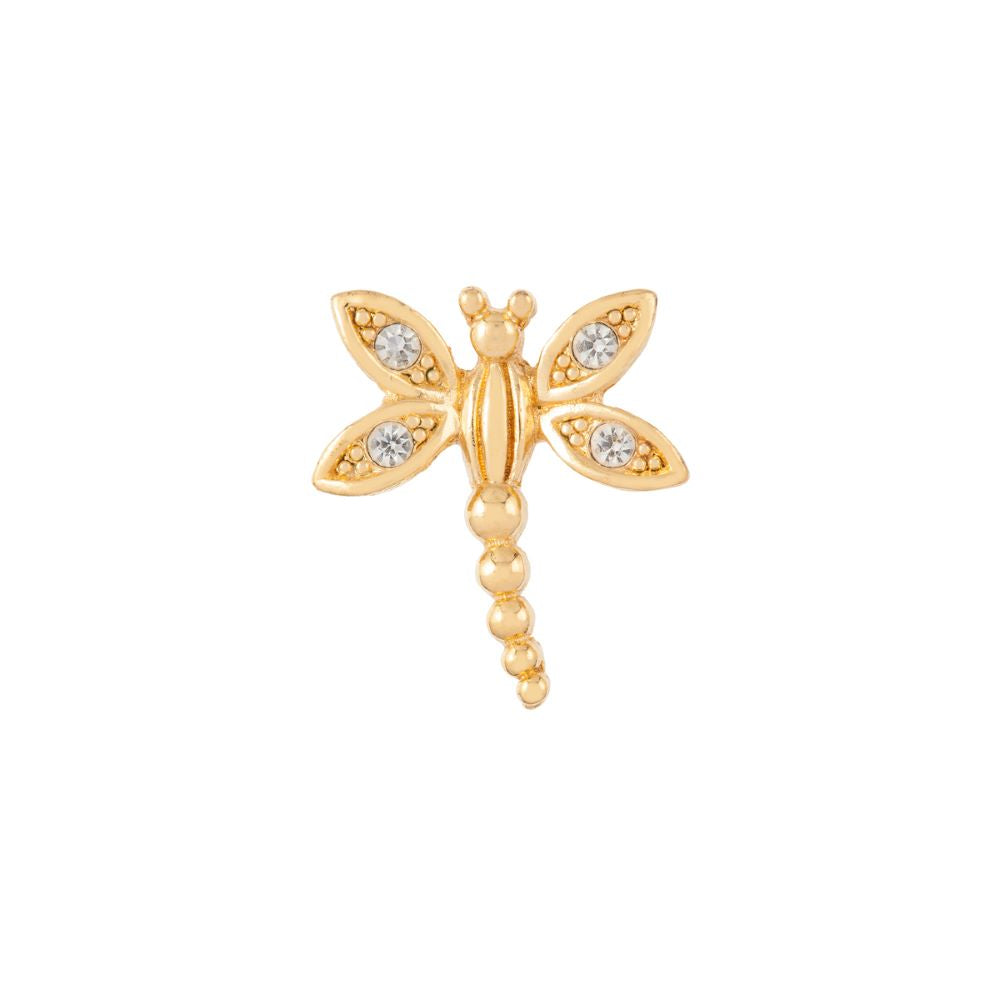 1980s Vintage Christian Dior Dragonfly Brooch