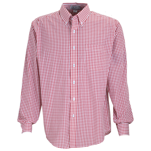 1107 Mens Easy-Care Gingham Check Shirt