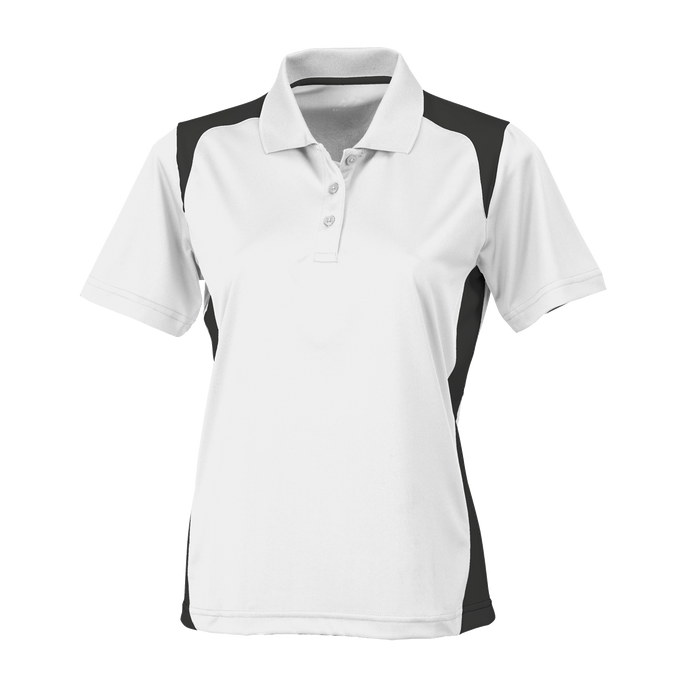 143 Ladies Blitz Colorblock Polo