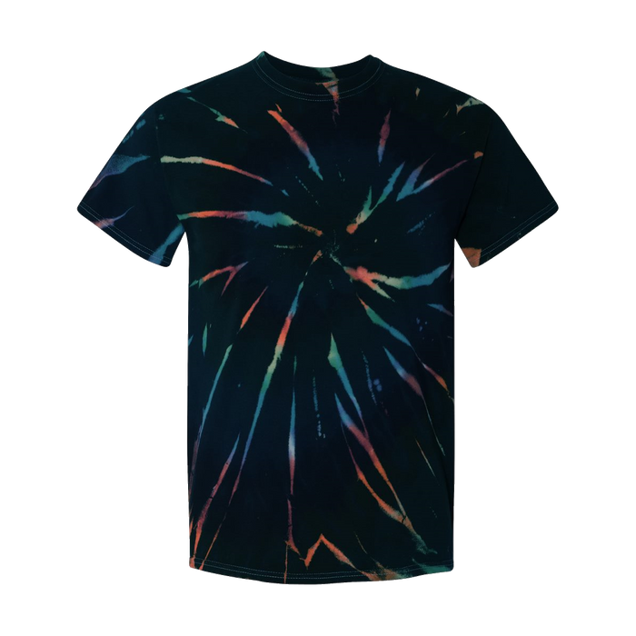 200MS Multi-Color Spiral Short Sleeve T-shirt