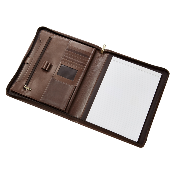 2206 Executive File Leather Padfolio