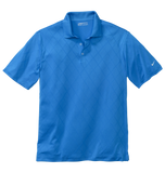 349899 Mens Golf Cross-Over Texture Polo