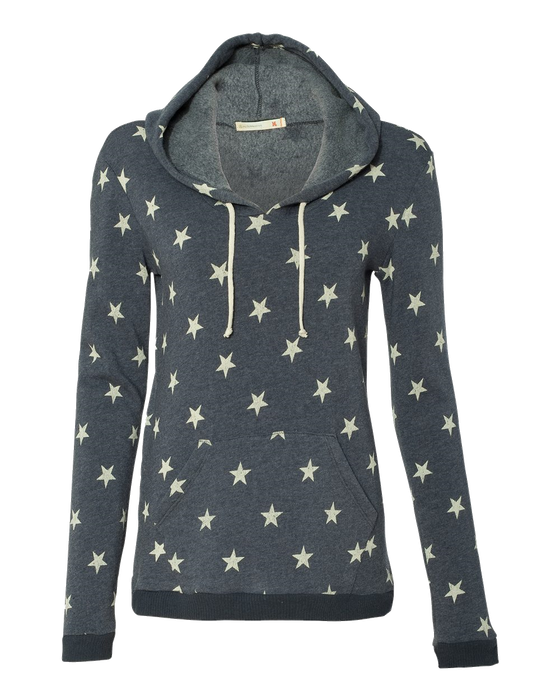 9596 Ladies Eco Fleece Athletics Hoody