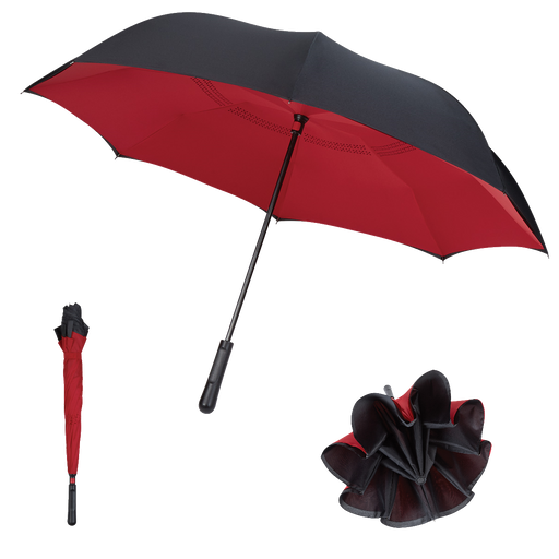 4145 Two-Tone Inversion Umbrella