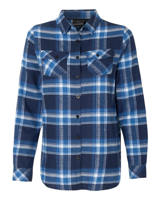 5210 Ladies Yarn-dyed Flannel Shirt