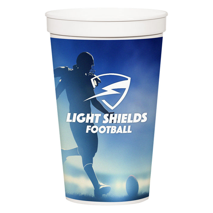 Full Color Stadium Cup
