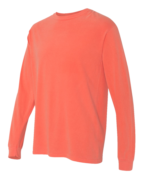 6014 Garment Dyed Heavyweight Ringspun Long Sleeve Tee