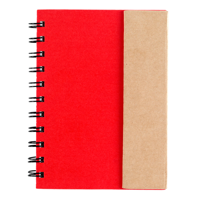 6106 Spiral Notebook with Sticky Notes