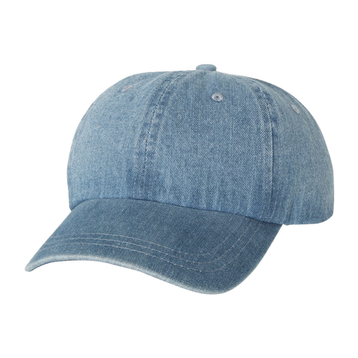 7610 Washed Denim Cap