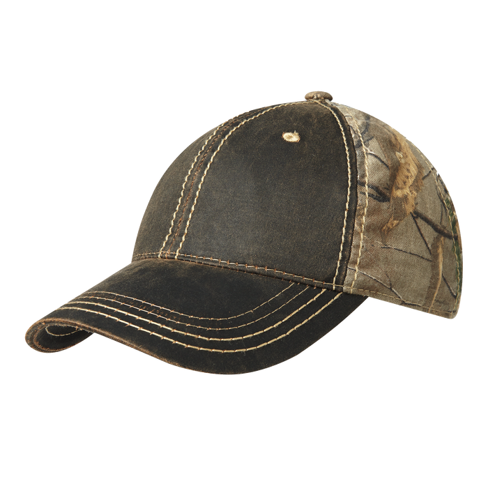 C819 Pigment-Dyed Camouflage Cap