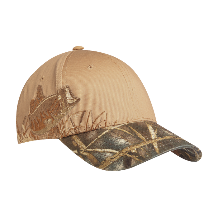 C820 Embroidered Wildlife Camouflage Cap