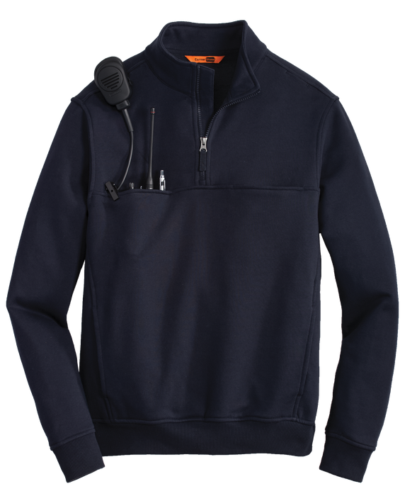 CS626 Mens 1/2 Zip Job Shirt