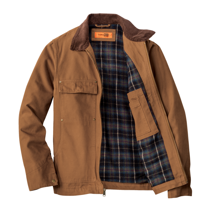 CSJ50 Washed Duck Cloth Chore Coat