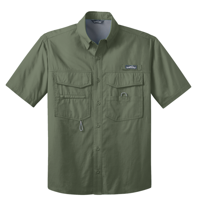 EB608 Mens Short Sleeve Fishing Shirt