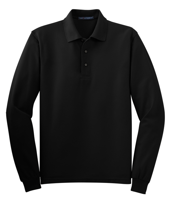TLK500LS Men's Tall Silk Touch Long Sleeve Polo